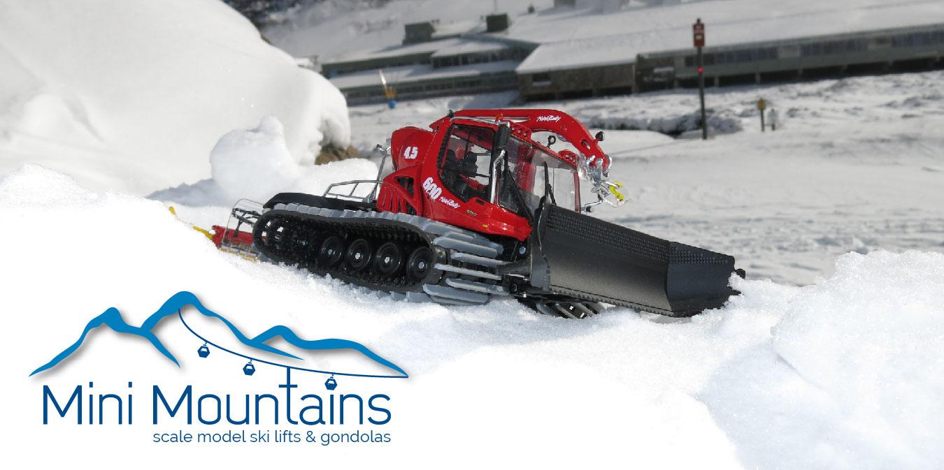 Christmas Village Ski Lift.Mini Mountains Scale Model Ski Lifts Gondolas