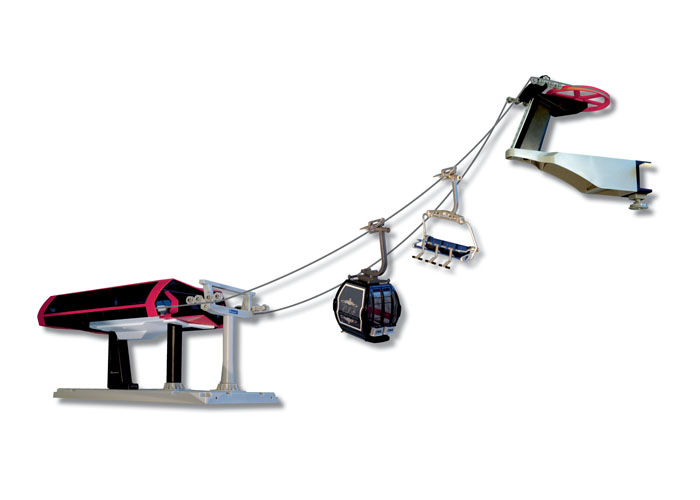 Christmas Village Ski Lift For Sale.Mini Mountains Scale Model Ski Lifts Gondolas